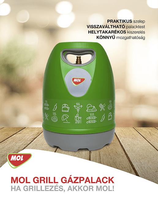Mini gázpalack