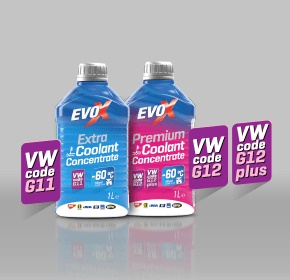 EVOX antifreeze coolants